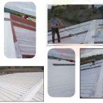 Mejora térmica en cubierta metálica con Gaina