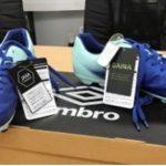 Zapatillas Umbro con la aplicación de Gaina en Suela